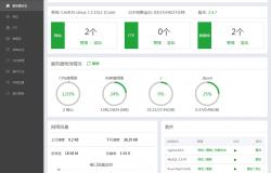 昨天将阿里ECS云服务器更换了控制面板!
