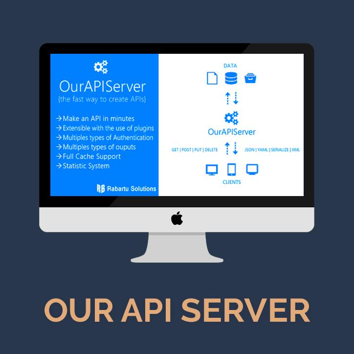 用简单的方法创建API可以使用OurAPIServer – RESTfull API web server-爱程序网